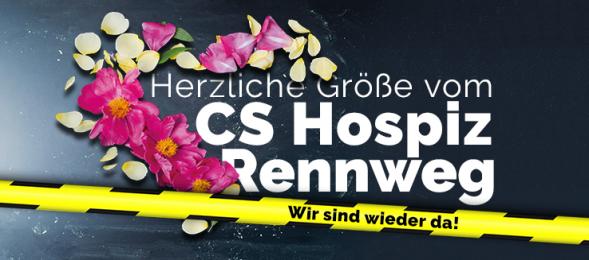 CS Hospiz Rennweg - Wir sind wieder da Newsletter