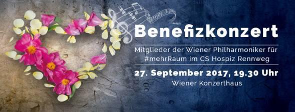 Benefizkonzert mit Mitglieder der Wiener Philharmoniker 27.9.2017